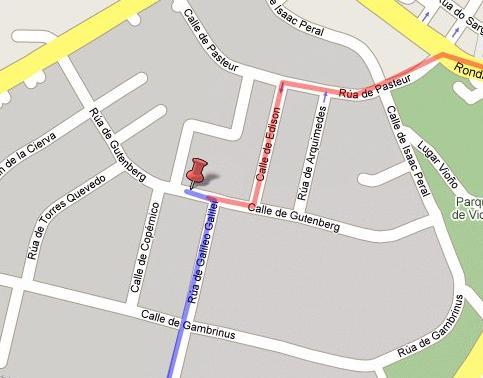 How to reach Igalia - My maps