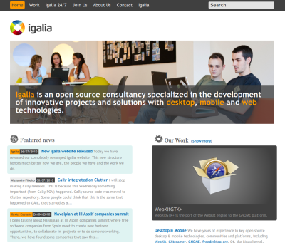 New Igalia website