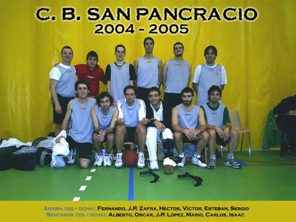 C.B. San Pancracio 2004/05