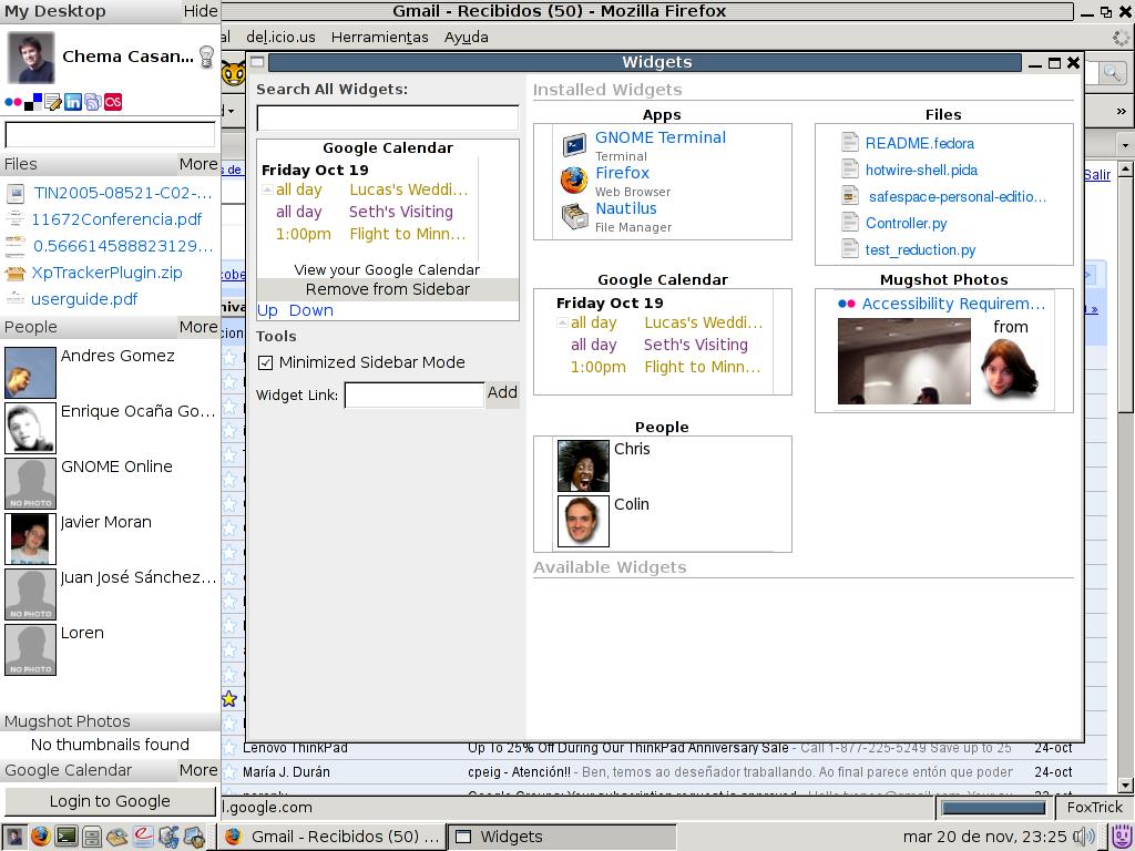 Online Desktop Snapshot