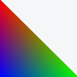 Gouraud-shaded triangle mesh