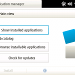 Hildon App Manager (N810)