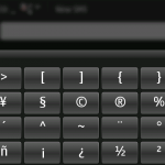 Hildon Input Method - on-screen keyboard (N900)