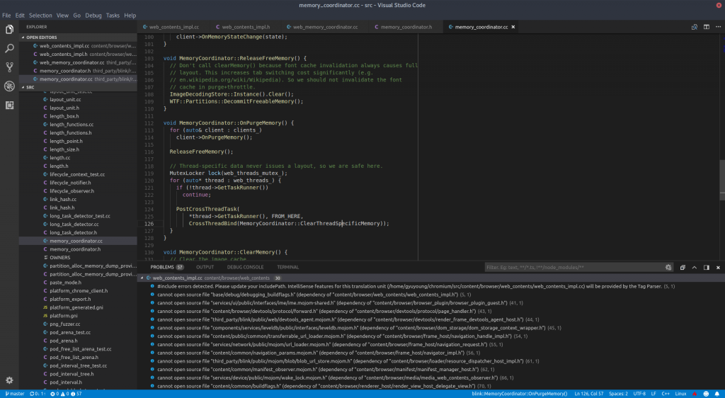 How to develop Chromium with Visual Studio Code on Linux