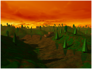OpenGL Terrain screenshot 2