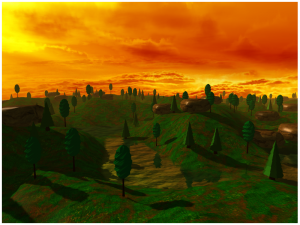 OpenGL Terrain screenshot 3