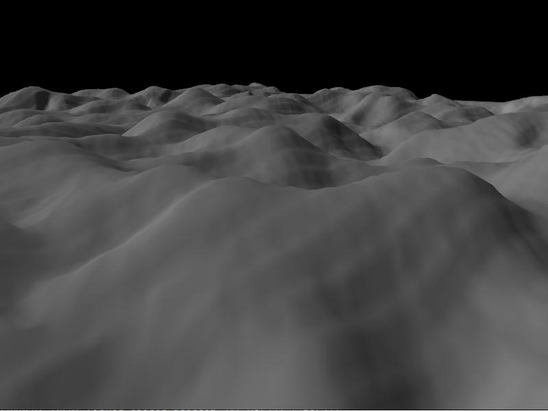 OpenGL Terrain Renderer Rendering The Terrain Mesh Developer Log - Terrain heightmap