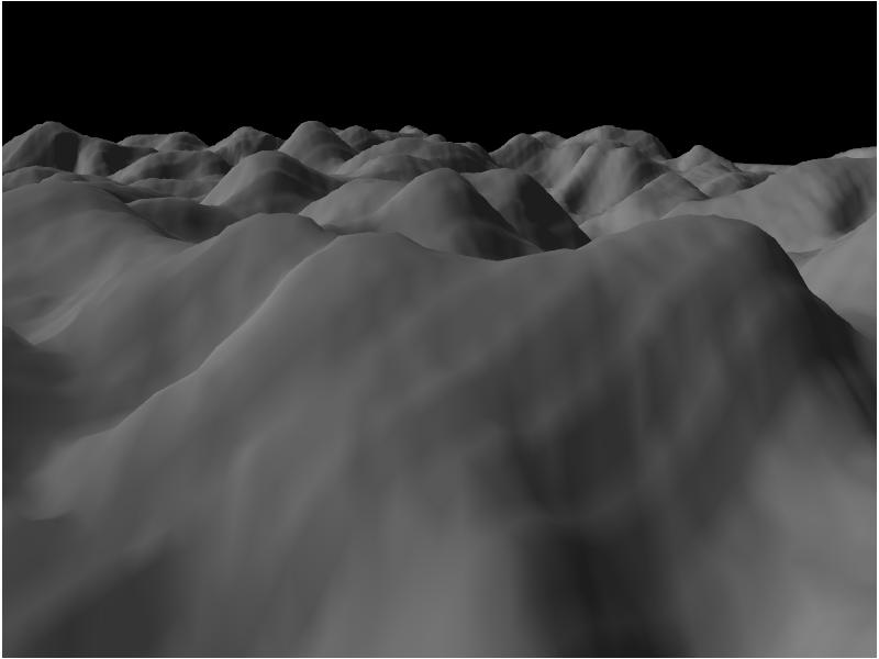 OpenGL terrain renderer: rendering the terrain mesh | Developer Log