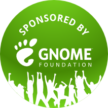 Sponsored by GNOME Foundation logo