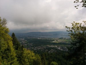 Zurich view from Felsenegg