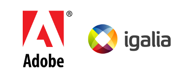 Adobe and Igalia are sponsoring the Web Engines Hackfest 2014