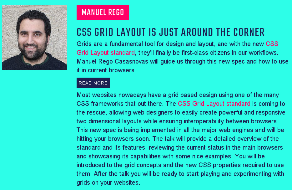 My talk abstract from CSSConf website