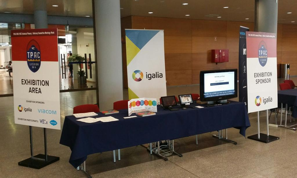 Igalia Booth at W3C TPAC 2016