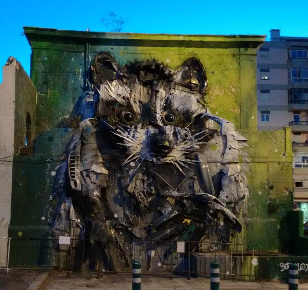 Lisbon wall painting