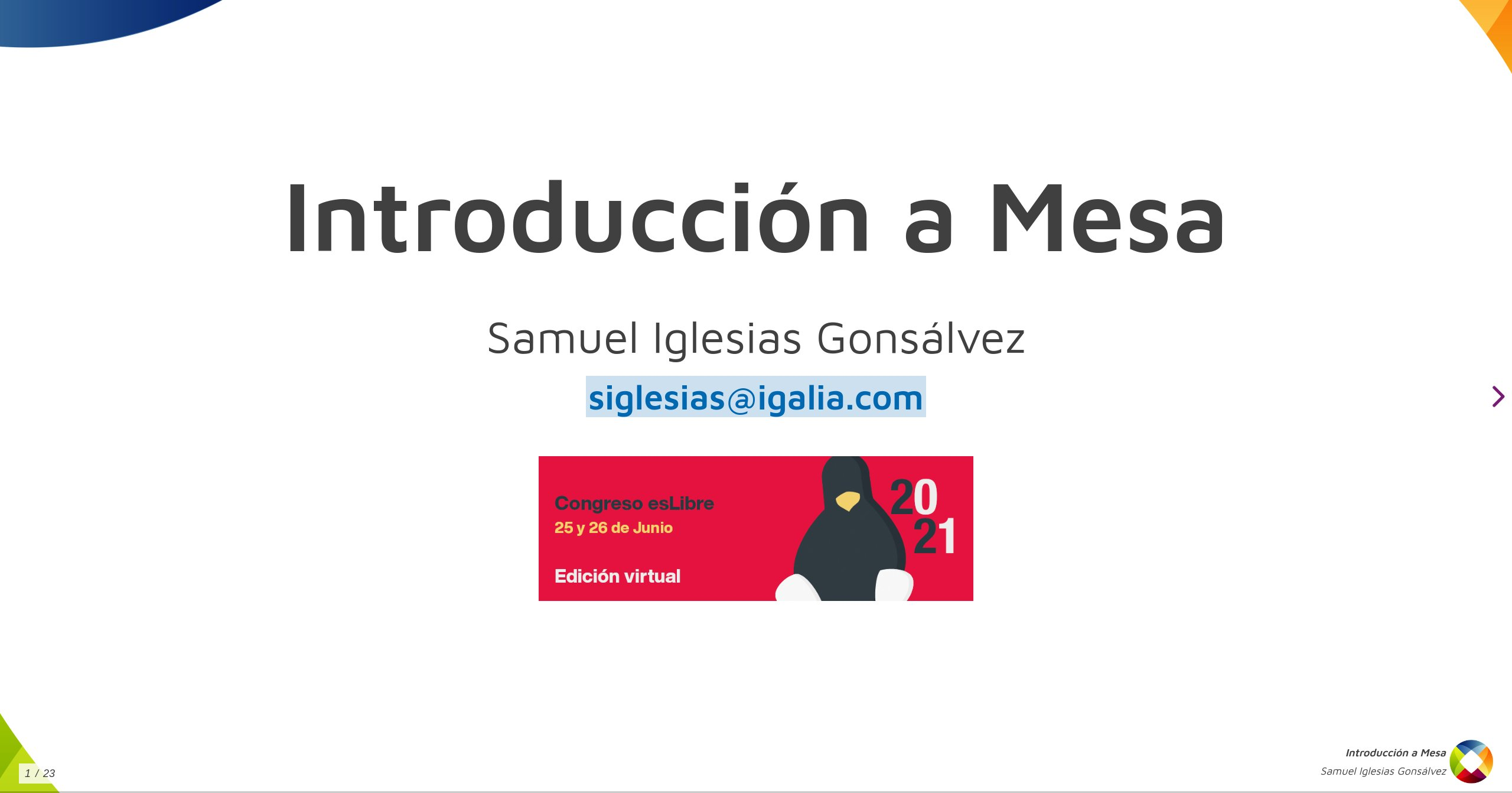 Introduction to Mesa