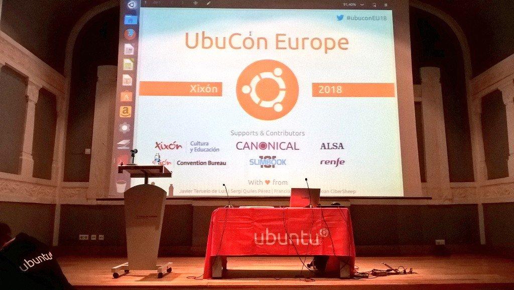 Ubucon Europe 2018