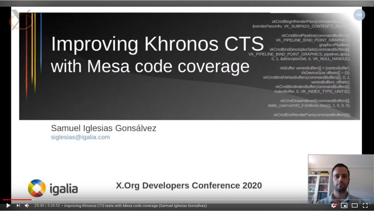 My XDC 2020 talk