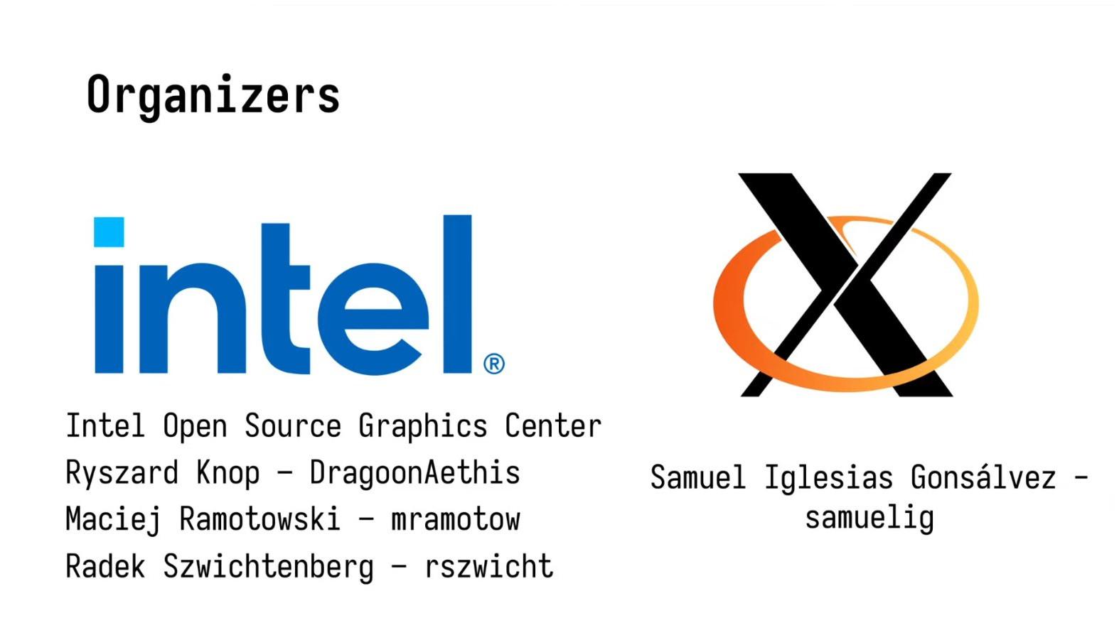 XDC 2021 Organizers