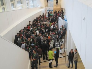 Libre Software World Conference 2012. Coffee break.
